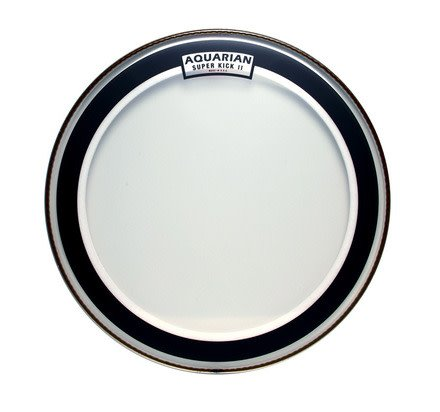 Aquarian Aquarian SuperKick II Clear Bass Drum Head 20""