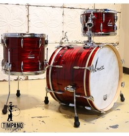 Sonor Batterie Sonor Vintage Red Oyster 20-12-14po avec support de tom