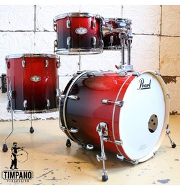 Pearl Used Pearl Vision Ruby Fade Drum Kit 22-10-12-16in