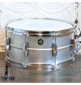 Q Drum Company Caisse claire Q Drum Gentleman's Aluminium 14X7po