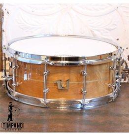 Unix Unix Curly Birch Steambent Snare Drum 14X6in