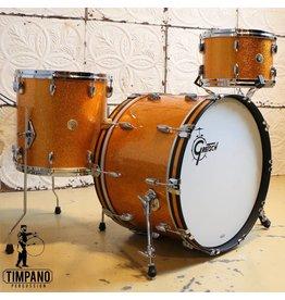 Gretsch Gretsch USA Custom Gold Sparkle Drum Kit 22-12-14in