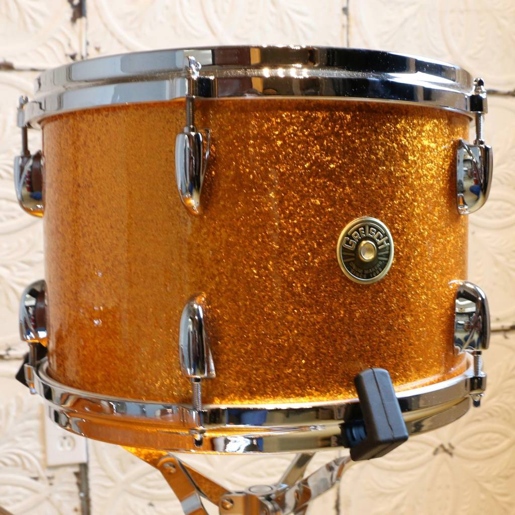 Gretsch Batterie Gretsch USA Custom Gold Sparkle 22-12-14po