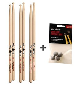 Vic Firth Three Pairs of Vic Firth SD1 and Free practice tips