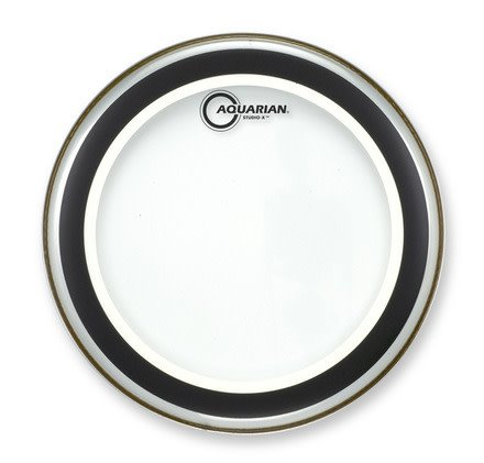 Aquarian Aquarian Studio-X Clear Drum Head 10in