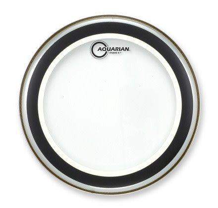 Aquarian Aquarian Studio-X Clear Drum Head 10in