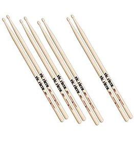 Vic Firth Vic Firth 3 pairs of 5A Drum Sticks + 1 free 5A Barrel tip