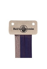 Black Swamp Percussion Chaîne de caisse claire Black Swamp Uncoated Stainless+Blue Coated Wrap-around