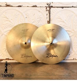 Zildjian Cymbales hi hat usagées Zildjian Avedis New Beat 14po
