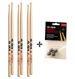 Vic Firth Three Pairs of Vic Firth 5A and Free pratice tips