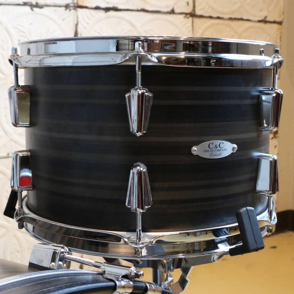 C&C Drum Company C&C Gladstone Butcher Block Drum Kit 22-12-16in