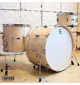 C&C Drum Company Drumkit C&C Player Date II Big Band Natural Maple Satin (24-13-16in)