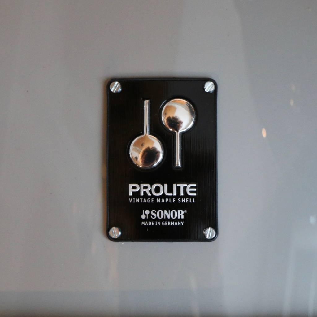 Sonor Batterie Sonor ProLite édition limitée Solid Lite Grey 22-10-12-14-16po