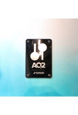 Sonor Batterie Sonor AQ2 Bop Aqua Silver Burst 18-12-14po + caisse claire 14po avec support de tom/cymbale