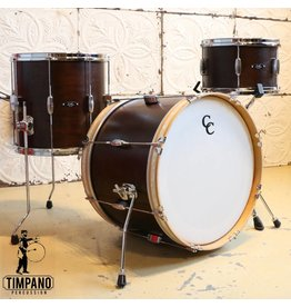 C&C Drum Company C&C Player Date I Be Bop Walnut Stain Drum Kit 20-12-14in
