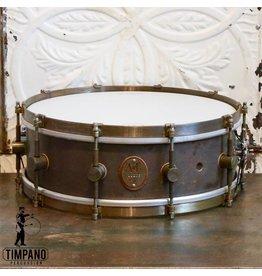 A&F Drum Co Caisse claire A&F Raw Copper 14x5po