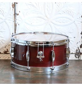 George Way George Way Tradition Mahogany Wine Red Snare Drum 14X6.5in