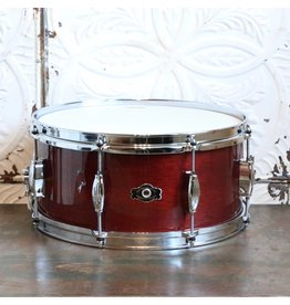 The Geo. H. Way Drum Company Caisse claire Geo H. Way Tradition acajou Wine Red 14X6.5po