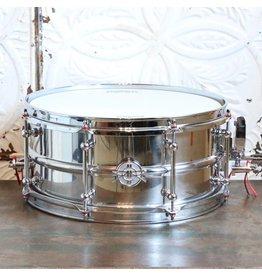 DUNNETT Caisse claire Dunnett 2N Stainless Steel 14X6.5po