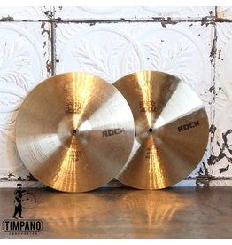 Paiste Cymbales hi-hat usagées Paiste 2002 Rock Heavy 14po