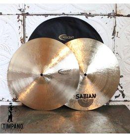 Crescent Cymbales hi-hat Crescent Stanton Moore Fat 15po