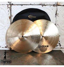 Sabian Sabian Crescent Hammertone Hi-hat Cymbals 14in