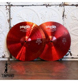 Paiste Used Paiste Colorsound Heavy Hi-hat Cymbals 14in