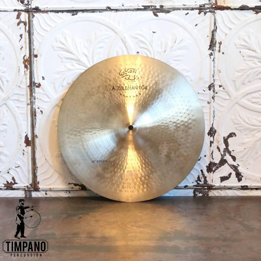 Zildjian Cymbale crash usagée Zildjian A Vintage 15po