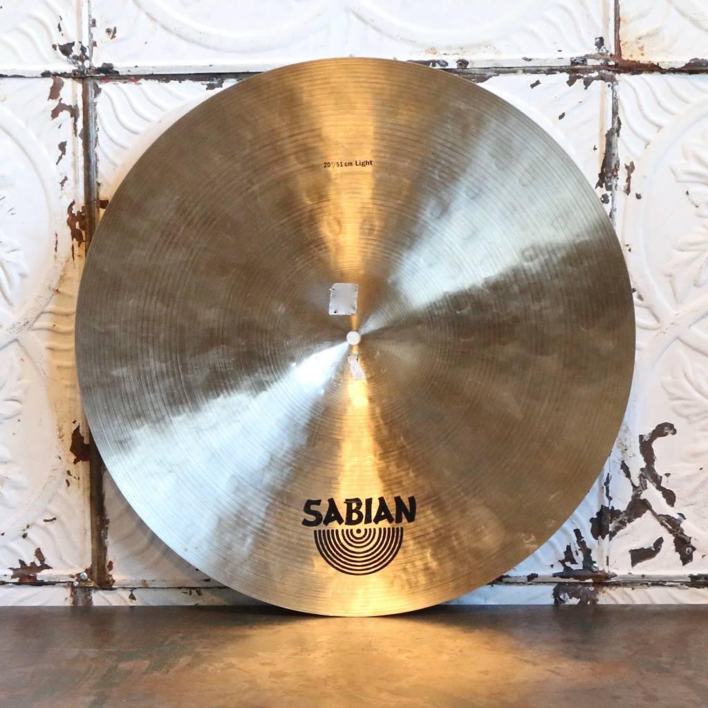 Sabian Cymbale ride usagée Sabian Artisan Light 20po