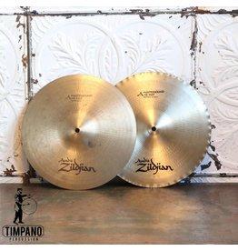 Zildjian Cymbales hi-hat usagées Zildjian Avedis Mastersound 13po