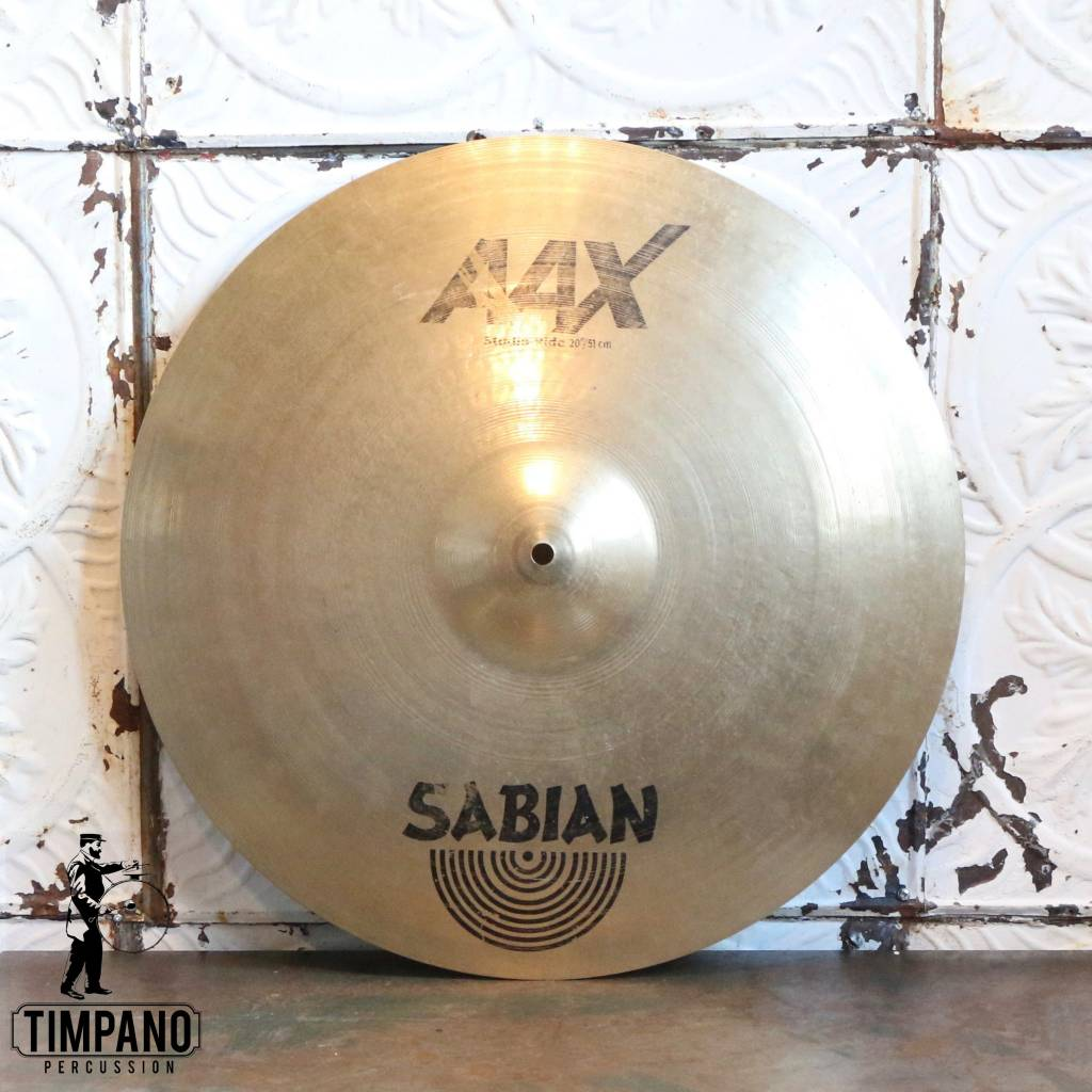 Sabian Cymbale ride usagée Sabian AAX Studio Ride 20po