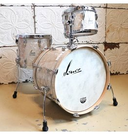 Sonor Sonor Vintage White Marine Pearl Drum Kit 20-12-14in with tom holder