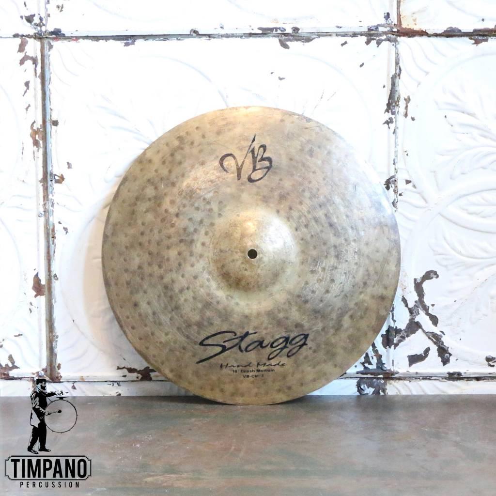 Cymbale crash usagée Stagg VB 16po