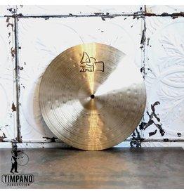 Paiste Cymbale crash usagée Paiste Alpha Thin 16po