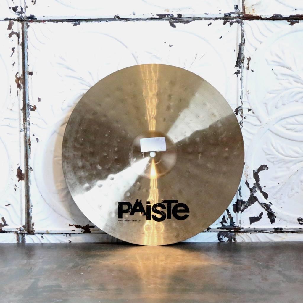 Paiste Used Paiste Alpha Thin Crash Cymbal 16in