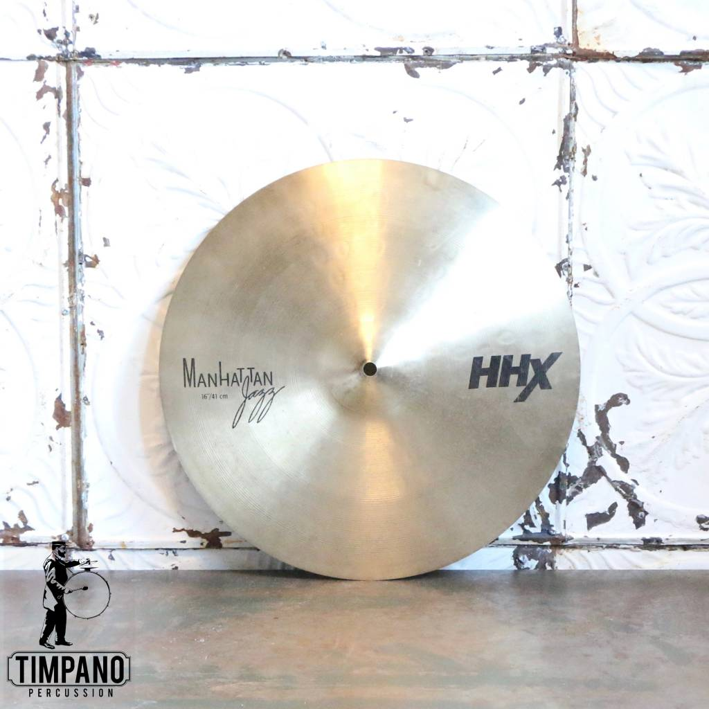 Sabian Used Sabian HHX Manhattan Jazz Crash Cymbal 16in
