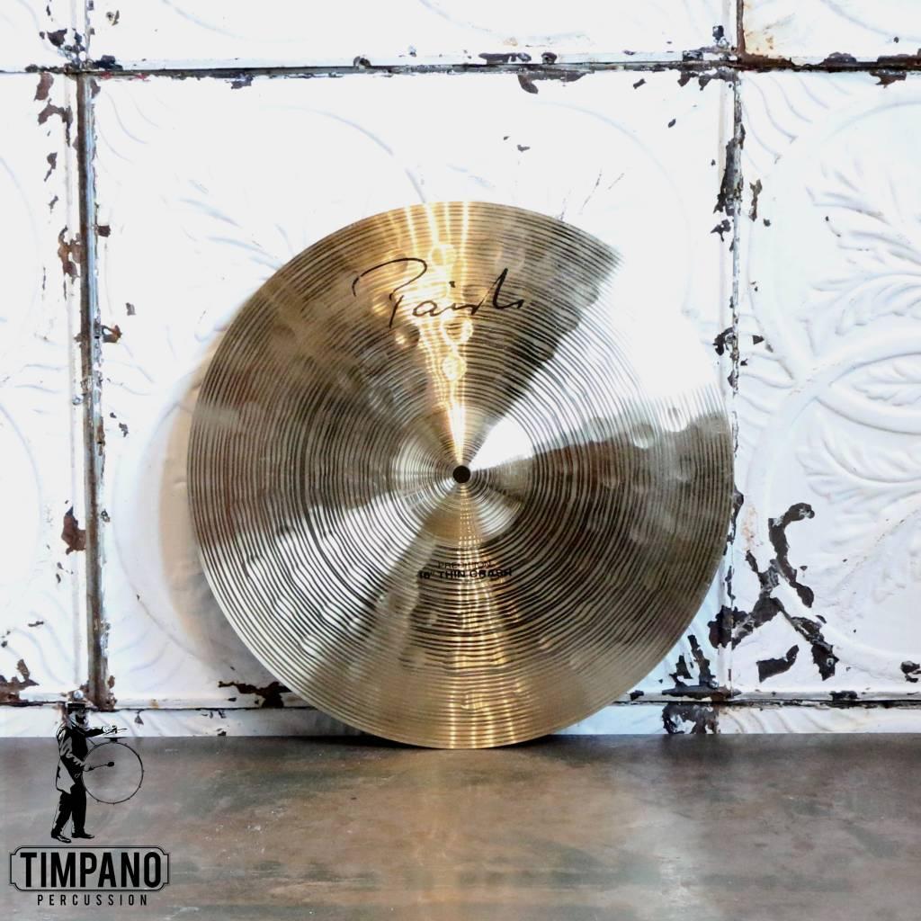 Paiste Cymbale usagée crash Paiste Signature Precision 16po