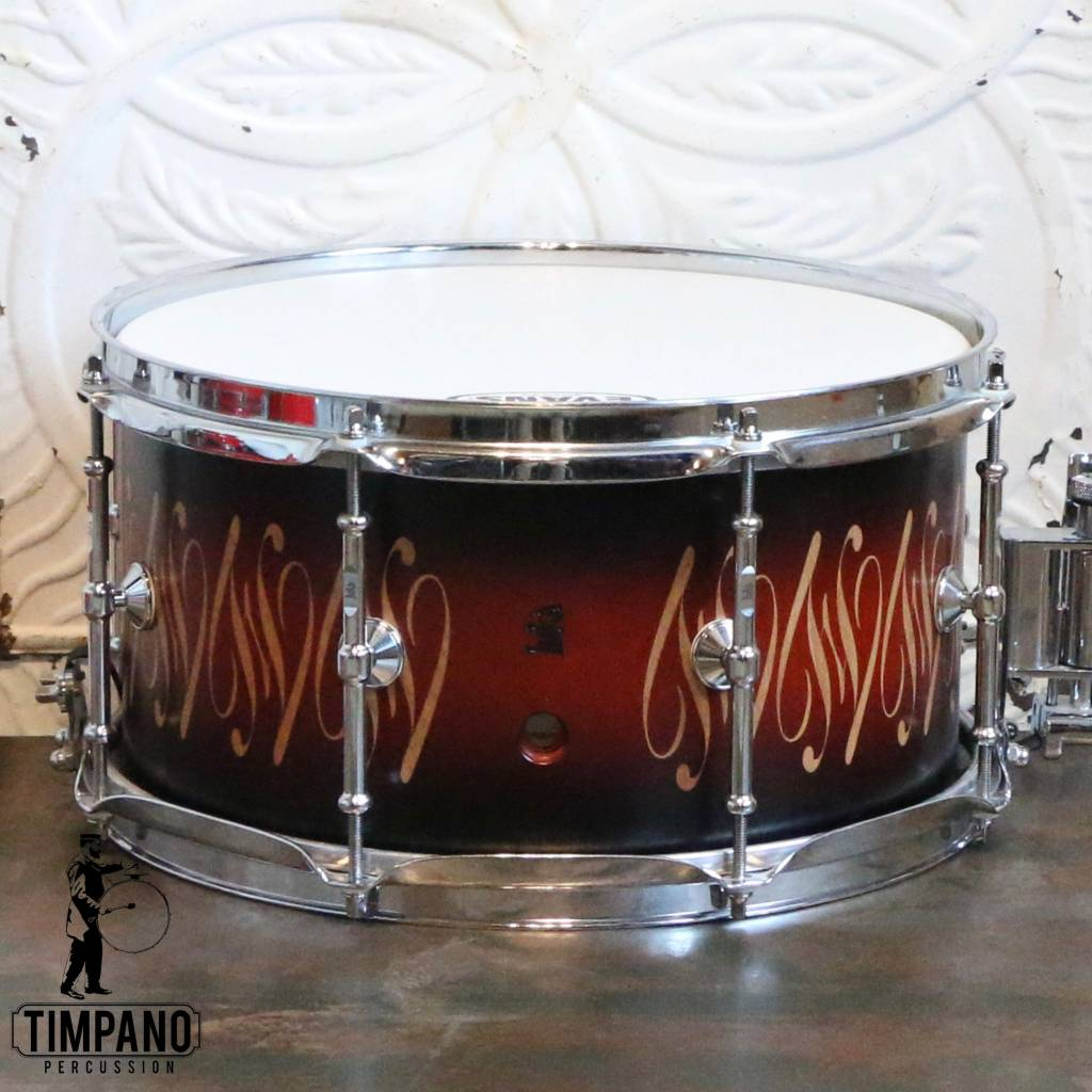 Used Luka Maple Snare Drum 13X7in