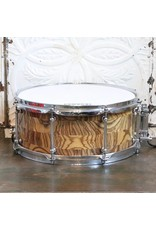 Used Evolution Zebrawood Snare Drum 14X6in