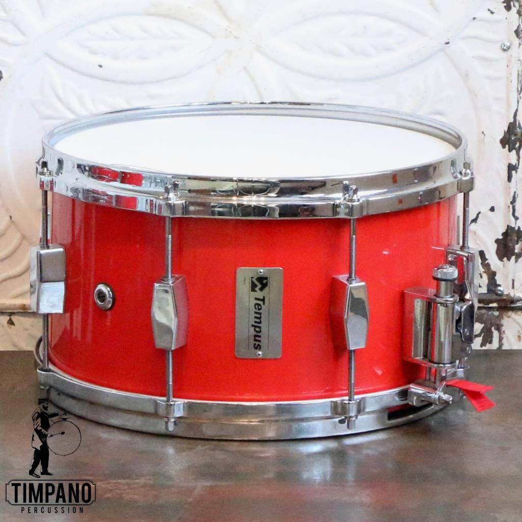 Used Tempus Fiberglass Snare Drum 13X7in