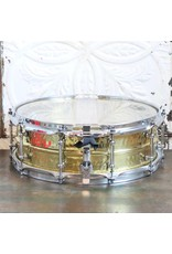 Ludwig Caisse claire usagée Ludwig Supraphonic Hammered Brass 14X5po