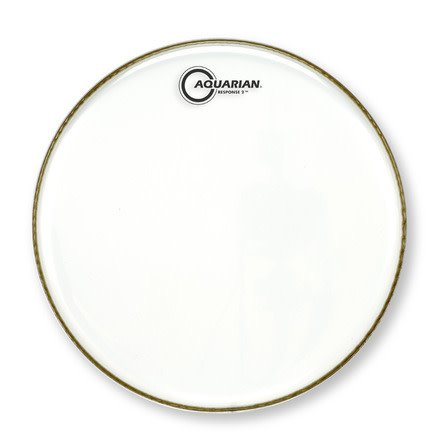 Aquarian Aquarian Response 2 Clear Drum Head 14""