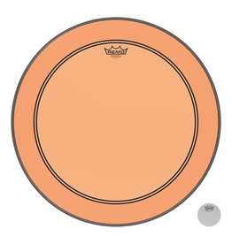 Remo Peau Powerstroke P3 Colortone Orange Bass 24po 5po Offset Hole