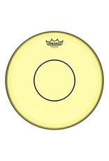 Remo Powerstroke 77 Colortone Yellow Head 14in