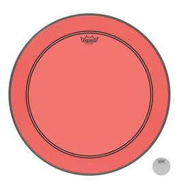 Remo Peau Powerstroke P3 Colortone Rouge Bass 22po