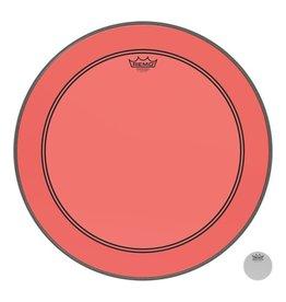 Remo Peau Powerstroke P3 Colortone Rouge Bass 24po