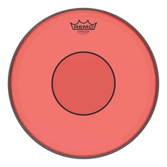 Remo Peau Powerstroke 77 Colortone Rouge 13po