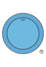 Remo Powerstroke P3 Colortone Blue Bass Head 24in