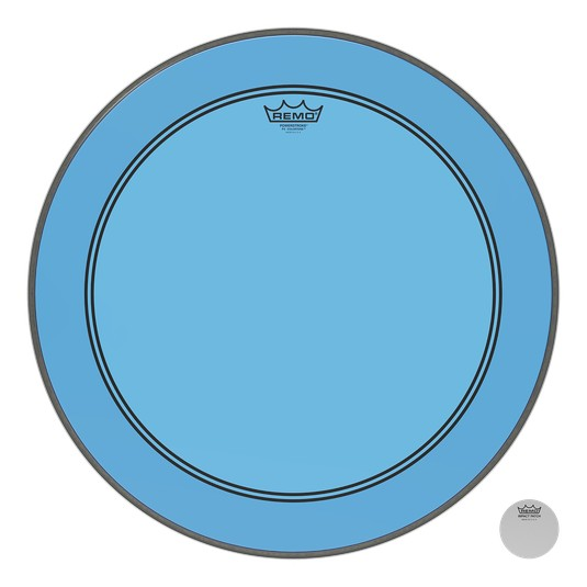 Remo Peau Powerstroke P3 Colortone Bleu Bass 26po