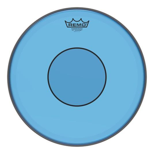 Remo Peau Powerstroke 77 Colortone Bleu 13po